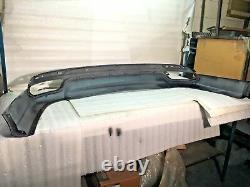 13 14 15 Fusion Rear Valance/finish Panel Set New Oem Silver/black Dual Exh