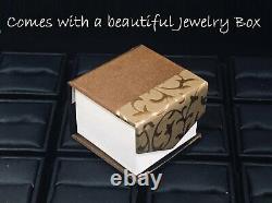 1.5ct Round Cut Black Diamond Bridal Set Engagement Ring 14k White Gold Finish