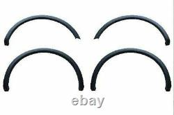 2015-2017 Ford F150 Factory OE Style Fender Flares Black Smooth Finish Set of 4