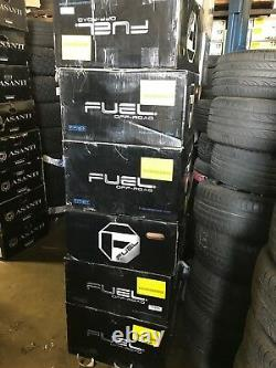 20 Fuel Maverick D610 20x9 5x150 5x139.7 Gloss Black Milled D61020907050 Set 4