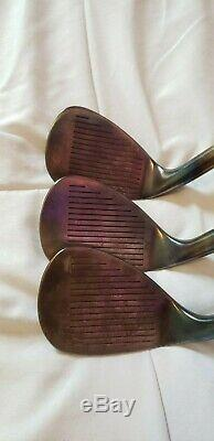 50 54 58 SM FORGED Raw Used Wedge Set by Corey Paul PURE TEAL FINISH