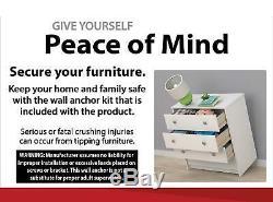 6 Drawer Dresser Modern Set Organizer Bedroom Clothes Furniture Finishes Chest