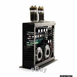 Acuhorn TT Stereo High End Tube Amplifier 6C33C SET Class A Black Finish