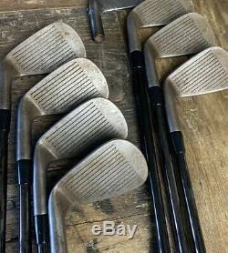 Adams IDEA Mb2s Raw Finish Iron Set 4-PW KBS $taper 130x Black! Rare