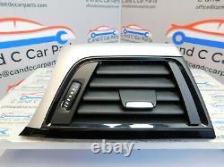 BMW F32 F33 Dashboard Trim Set Brushed Aluminium Gloss Black Finish 9218552 7/2