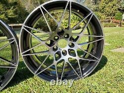 BMW M3 M4 Wheels 666M 20 Black Finish, Set of 4