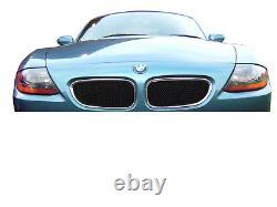 BMW Z4 Upper Grill Set Black finish (2003 2009)