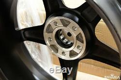 Bavaria BC5-MBM 20 ET35 Wheels Matte Black Machined Finish (set of 4)