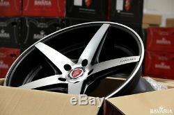 Bavaria BC5-MBM 20 ET42 Wheels Matte Black Machined Finish (set of 4)