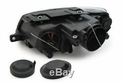 Black clear finish Headlight set FOR VW Passat 3C B6 05-10 replacement