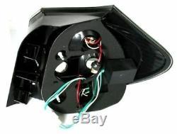 Black smoked finish LED tail rear lights SET for BMW E87 04-07