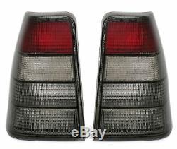 Black smoked finish Tail rear Lights Set FOR Opel Kadett E 84-91 also GSI