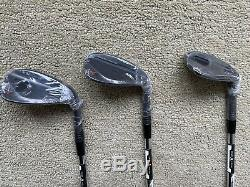 Brand New Taylormade Milled Grind 2 Wedge Set. Black Finish. 60, 56, 52