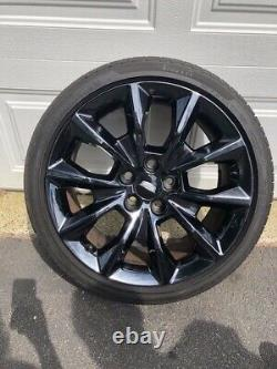 Cadillac CTS 19 OEM Factory Wheel/Tire Package in Black Chrome Finish-Set Of 4