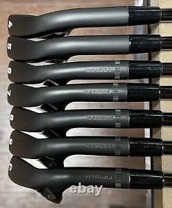 Callaway Apex MB Forged Combo Iron Set (4-PW) Xtreme Dark Finish Black KBS