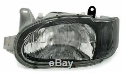 Clear Black finish headlights front light set for FORD ESCORT MK7 from 2 / 95-