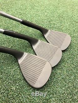 Cleveland CG12 Zip Grooves Wedge Set Black Finish Golf Club 52 56 60 Hand Stamp
