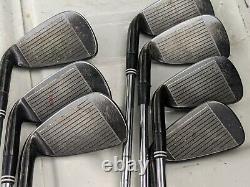 Cleveland CG16 Iron Set 4-PW Black Pearl Finish, Steel Stiff Flex Shafts