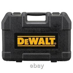 DEWALT 181 Piece Mechanics Tool Set With Black Chrome Finish In Carry Case