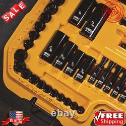 DeWalt 184-piece Polished BLACK Chrome Tool Set Corrosion-Resistant Finish NEW