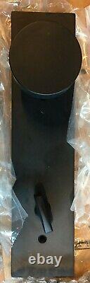 Emtek 4819R0UUS19 Tubular Entry Set with Round Knob, Flat Black Finish