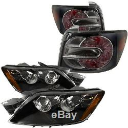 Fits 2007-2011 Mazda CX-7 Headlights And Tail Lights Set Factory Fit And Finish