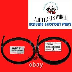 Genuine 08-15 Scion Xa Right & Left Center Roof Drip Side Finish Mouldings Set