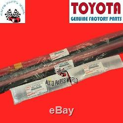 Genuine Toyota Tundra Crewmax Front & Rear Roof Drip Side Finish Moulding Set 4
