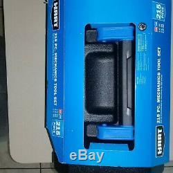 Hart Multiple Drive 215 Piece Mechanics Tool Set, Chrome Finish, New In Box