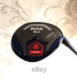 Japan Wazaki Black Oil Finish Mx Steel 456789PS Hybrid Iron Golf Club Set&c
