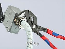 Knipex 10 Cobra & Adjustable Pliers Wrench Set Comfort Grip Handle Black Finish