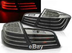 LED Bar Tail rear lights Set FOR BMW 5 series F10 10 13 in Black Chrome finish
