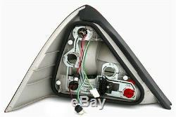 LED tail rear lights set in BLACK smoke finish for Mercedes SLK R170 from 96-04