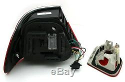 LED taillights set RED BLACK finish for BMW E46 Coupe 99-03 LIGHTS FACELIFT