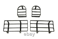 Land Rover Defender 90 & 110 / Series 3 (late) Rear Lamp Guards Set Of 4 Stc8860