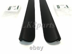Land Rover Discovery 2 99 04 Genuine Rear Door Side Trim Finisher Lh + Rh Set