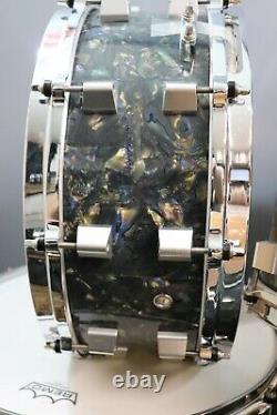 Maryland Drum Company 5pc Drum Set Shell Pack Black Astral Finish