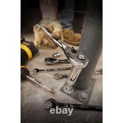 Mechanics Tool Set 200-Piece Polished Chrome Finish 1/4 3/8 1/2 Drive Shop