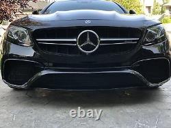 Mercedes AMG E63s (W213) Front Grill Set Black Finish (2017)