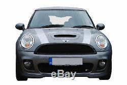 Mini Cooper S R56 Front Grille Set Black Finish (2006 Onwards)