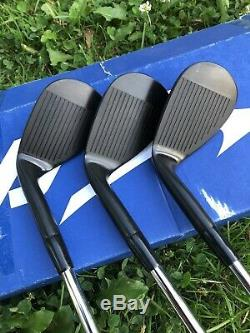 Mizuno Wedge MP Series Set 50, 54, 58 Blacked Out Finish Golf Club Hand Stamped