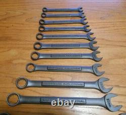 NOS Craftsman Industrial 14pc Black Oxide Matte Finish Combo set, MET set, USA