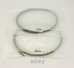 New Genuine For Toyota 07-11 Yaris Hatch Roof Drip Side Finish Moulding Set Of 2