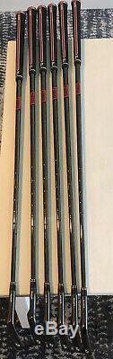 New S Lh Miura Y Grind Irons MB/CB Combo Set Black Finish 4-9 W\KBS Black Shafts