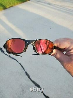 Oakley X metal juliet CARBON Finish Complete Set with Prizm Snow Torch lenses