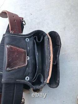 Occidental Leather 9525LH Left Hand Finisher Finishing Tool Bag Belt Set Med