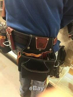 Occidental Leather 9525 (Size Large) Finisher Tool Bag Belt Set