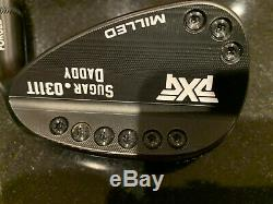 PXG Milled 0311T wedge set, 48 54 58 Sugar Daddy Darkness Finish withupgrades