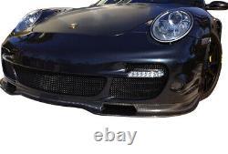 Porsche Carrera 997 Turbo Front Grill Set Black finish (2006 to 2012)