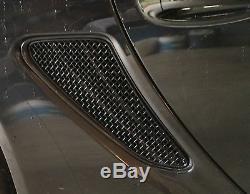 Porsche Cayman 987.1 And 987.2 Side Vent Grille Set Black finish 2005 201